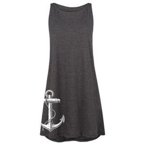 Anchor Tank Dress XL